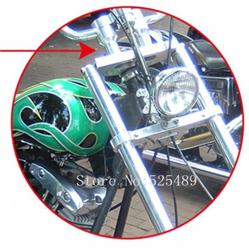 """Купить Мотоцикла С ЧПУ 1 """"25 мм Руль Стояков Для Harley Honda Shadow VLX 600 750 VTX 1300 1800 Kawasaki Vulcan Валькирия 900 Yamaha"""