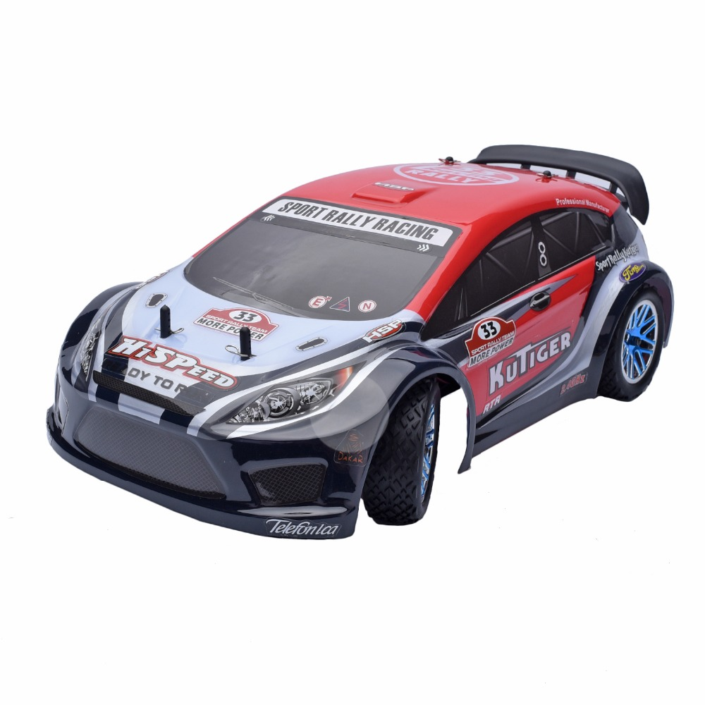 HSP Rc Car 1/10 4wd Nitro Gas Power Remote Control Car 94177 KUTIGER Off-road Sport Rally Racing RTR High Speed Hobby Drift car