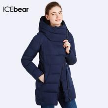 ICEbear 2016 Много Цветов Зимняя Куртка Женщин Новый Модный Бренд Теплый Толстый Широкий талией Верхняя Одежда Капюшоном Свободные Пальто 16G607(China (Mainland))
