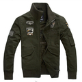 Men jacket jean military Plus Размер 6XL army soldier Washing Хлопок Air force one ...