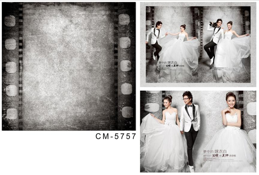 wedding background photography 600cmX300cm background photography Nostalgic black and white film  CM-5757<br><br>Aliexpress