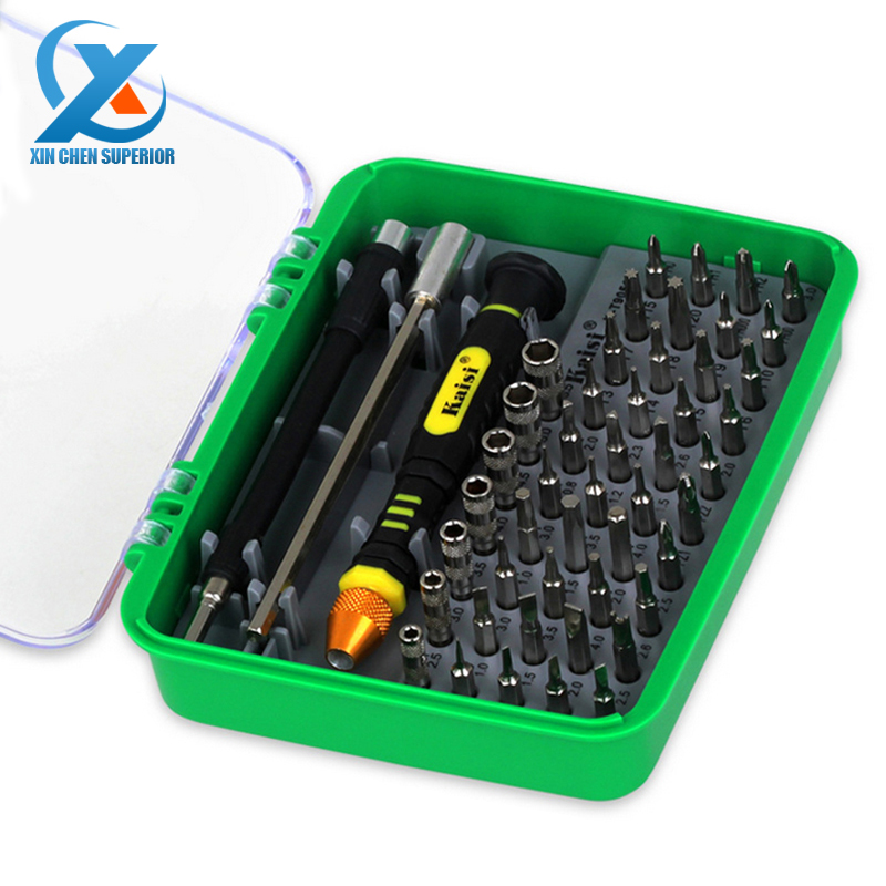 51 in 1 Steel Multi Tool Set Hand Tools Repair Tool Kit Precision Screwdriver Set Tool Box for Cell Phones Laptop for Russia(China (Mainland))