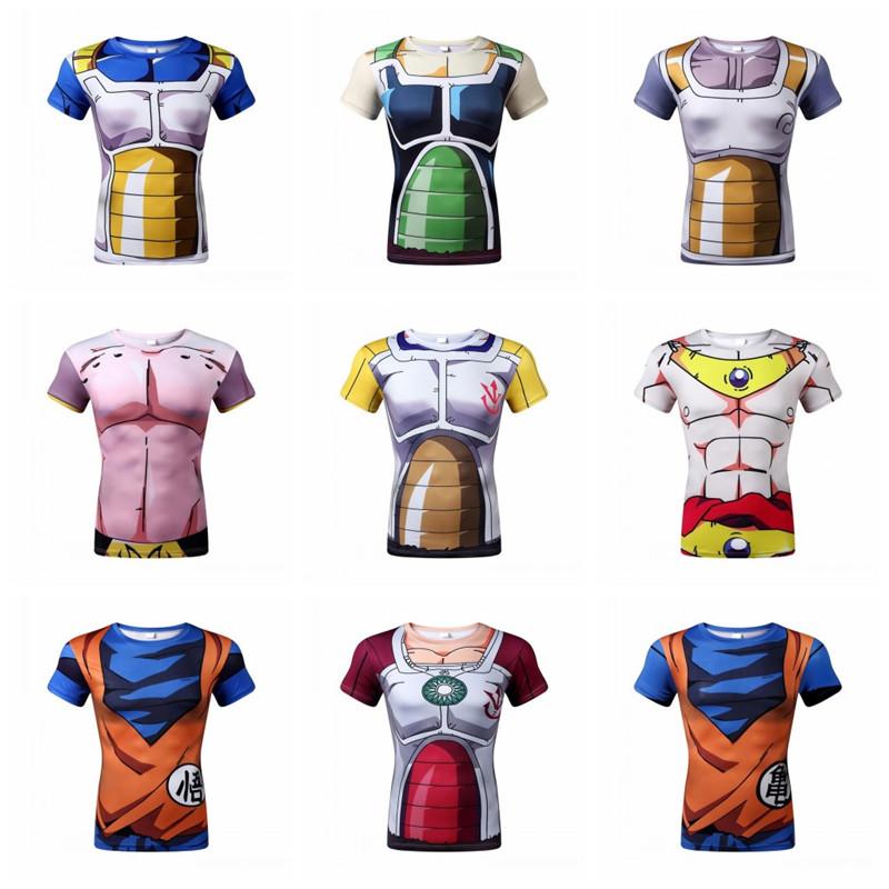 Newest Cute Kid Goku 3D t shirt DBZ t shirts Women Men Casual tees Anime Dragon
