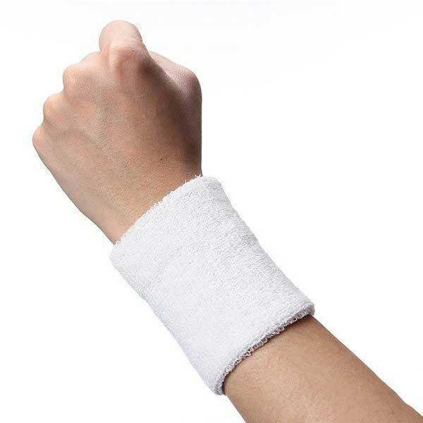 BuyCent Cheap Sweatbands Sport Cotton Wristband for Tennis Badminton Gym Sports(China (Mainland))