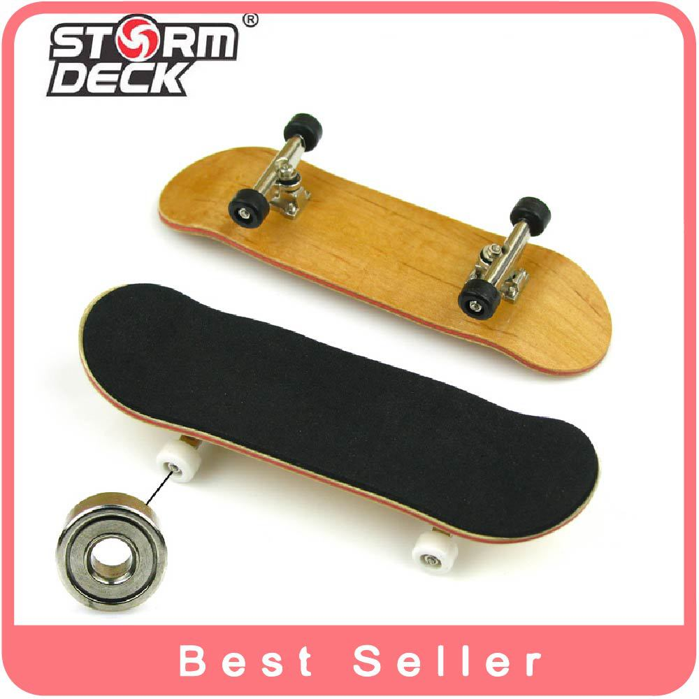 2015 Professional Maple Wood Finger Skateboard Nickel Alloy Stents Bearing Wheel Fingerboard Adult Novelty Items Children Toys(China (Mainland))