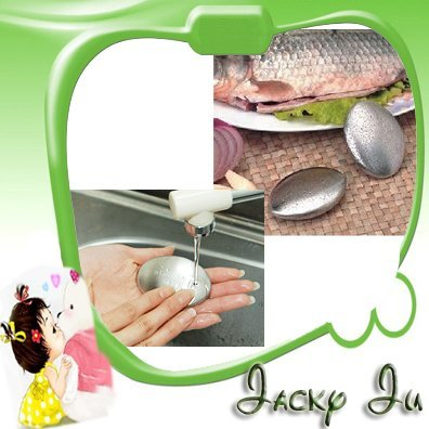 3pcs/Lot Free Shipping New Fresh Cleaning Stainless Steel Soap Eliminating Odor Kitchen Bar Smell
