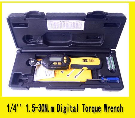 Здесь можно купить  1/4 inch drive 1.5-30N.m digital buzzer 6led torque wrench 4-unit selection 1/4 inch drive 1.5-30N.m digital buzzer 6led torque wrench 4-unit selection Инструменты