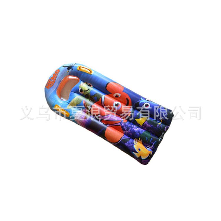 Manufacturers shelf pvc inflatable children's swim board surfboard cartoon many styles wholesale(China (Mainland))