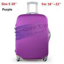 Free Shipping Travel on Road  Luggage Cover Protective For Trunk Case Apply to 18''~30''Suitcase Thick Elastic  Perfectly(China (Mainland))