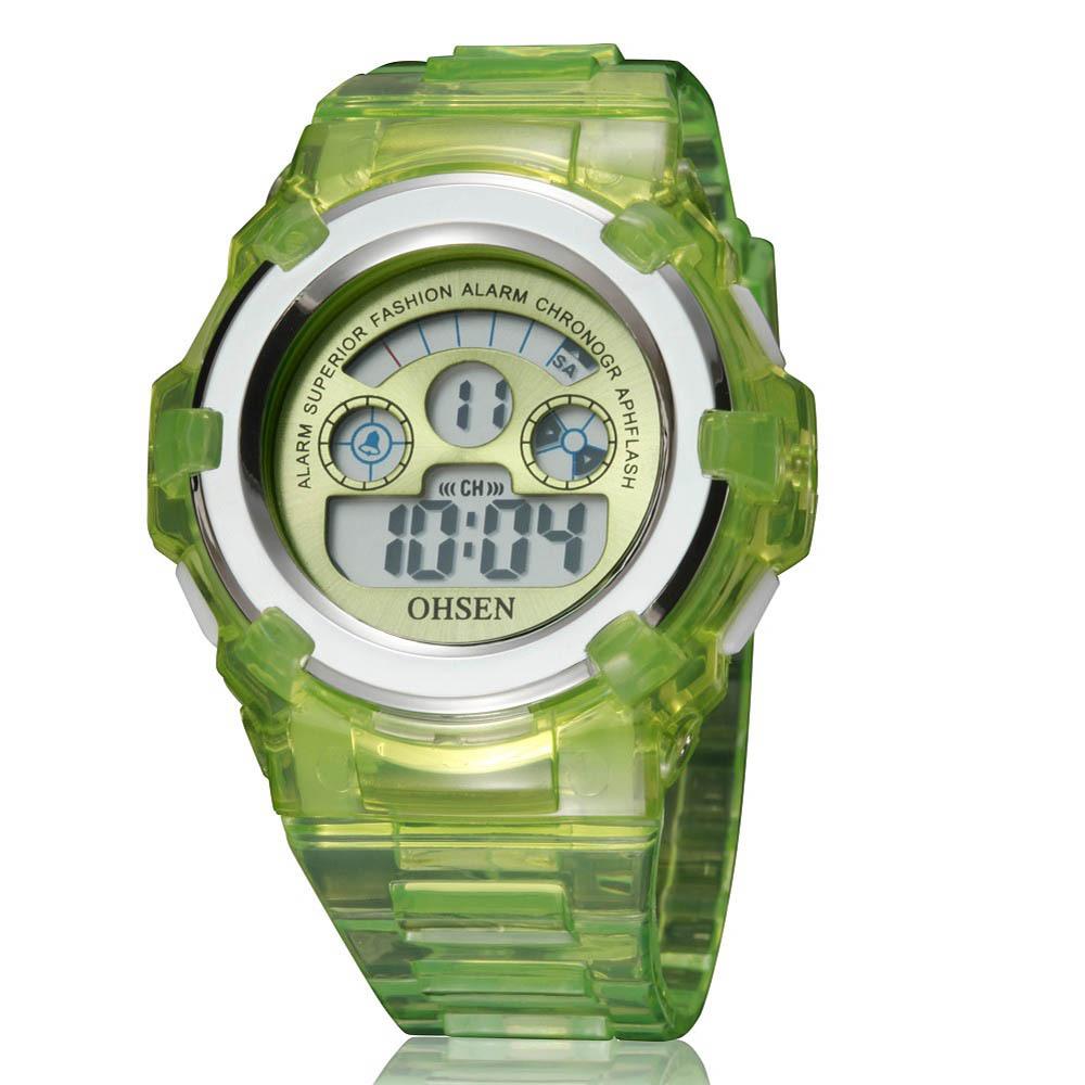 brand ohsen digital boys sport wristwatch