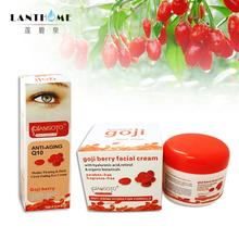 Q10 Goji facial cream eyes cream Goji cream face Whitening skin care Anti wrinkle eye cream Remove dark circles under eyes(China (Mainland))