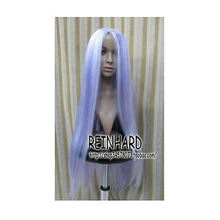 Wholesale& heat resistant LY free shipping>>>New Long Light Purple Mix White Fashion Cosplay Wig Hair 100cm