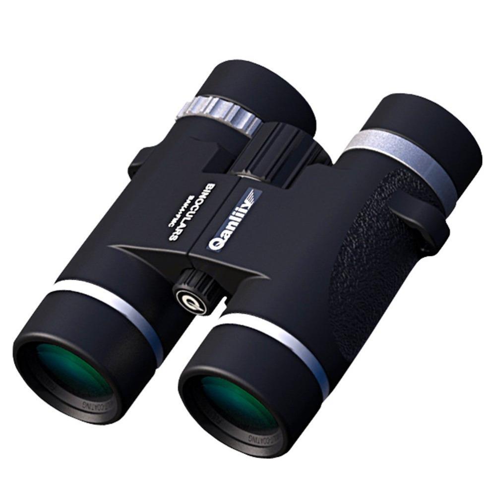 Qanliiy 12 x 32 4m-5000m Power View Compact Stabilization Binoculars Telescopes BAK4 Roof Prism for Hiking Bird Watching<br><br>Aliexpress