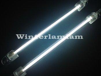 """2x White 15cm 6"""" Car Neon Exterior/Interior Light Lamp"""