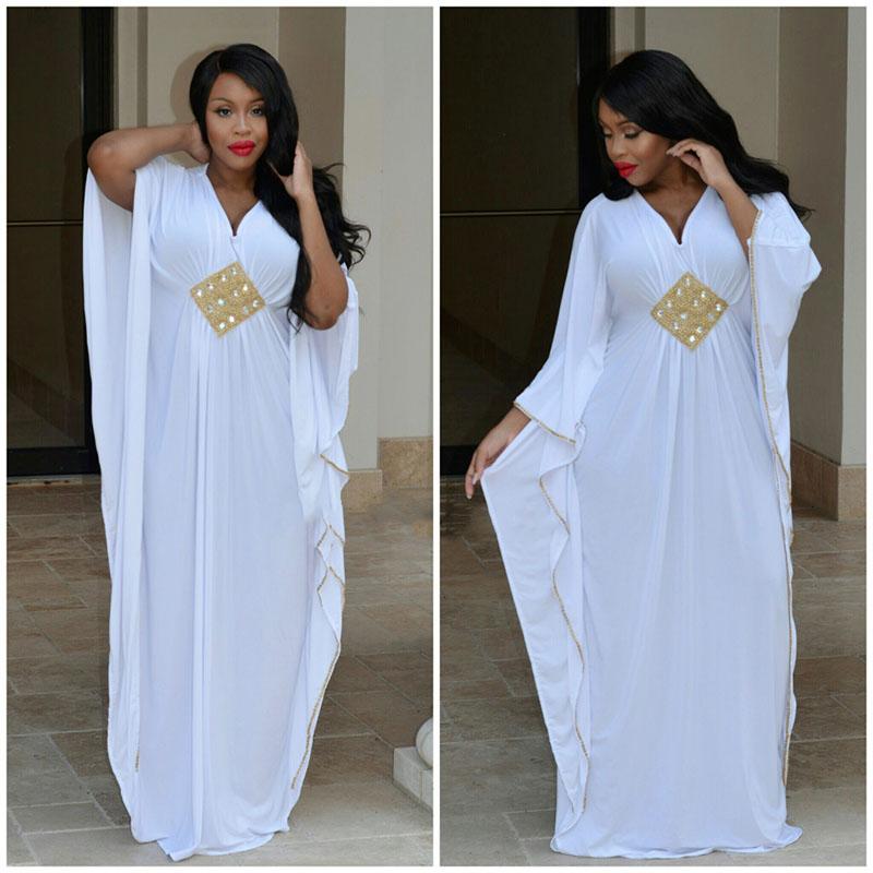 White and gold kaftan dress dress blog edin for White kaftan wedding dress