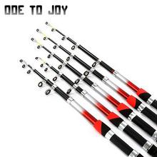 1.5M 1.8M 2.1M 2.4M 2.7M 3.0M 3.6M 4.5M Portable Telescopic Fishing Rod Glass Fiber Fishing Pole Travel Sea Spinning Fishing Rod(China (Mainland))