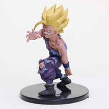 Anime dragon ball z célula figura super saiyan infância filho gohan pvc figura de ação collectible modelo brinquedo(China)