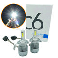 COB 72W 7600LM H4 LED Headligh high and low beam hi low Auto headlamp Car LED