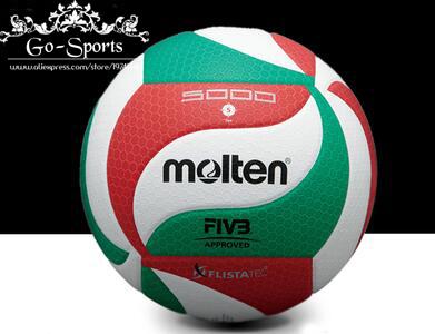 Factory Wholesale Original Molten Volleyball Ball Official Size 5 Weight VSM5000 Top Quality Match Volleyball Ball voleibol(China (Mainland))