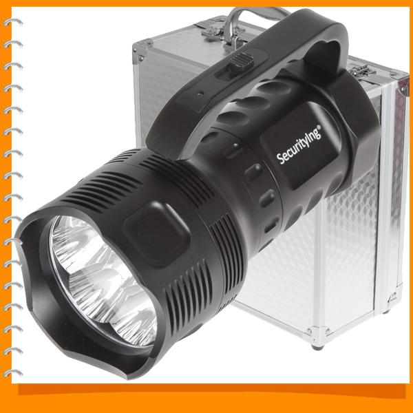 SecurityIng 3800 Lumen 7 x Cree XML T6 LED Flashlight Torch Super Bright Waterproof Flash Light with 1000m Lighting Distance<br><br>Aliexpress