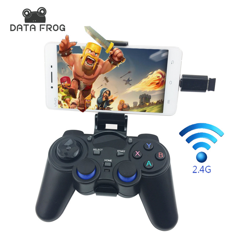 Joystick for Android Smartphone 2.4G Wireless Gamepad for PS3 Game Controller for Xiaomi TV BOX VR BOX Joysticks for PC Mac(China (Mainland))