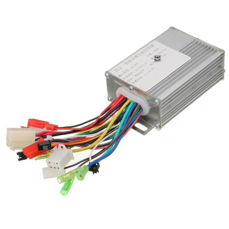 Lowest Price 36V 17A 350W Silvery Electrocar Brushless Motor Controller Accessories for Electric Scooters for Electric Bicycles(China (Mainland))