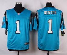 Carolina Panthers #1 Cam Newton Elite White Blue Alternate and Black Team Color free shipping(China (Mainland))