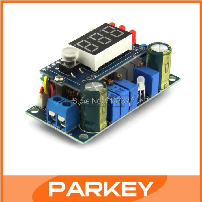 Zonnepanelen mppt controller 5a dc step- down module digitale constante spanning constante stroom opladen #210051 met led display(China (Mainland))