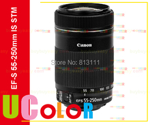 Buy New Canon EF-S 55-250mm f/4-5.6 IS STM Lens Canon 550D 600D 650D 700D 750D 760D 60D 70D 80D 7D 100D 600D 650D 70DT4 T5 T3i for $205.00 in AliExpress store