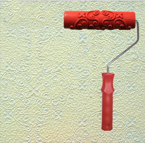 Diatom ooze tools tv background wallpaper 7 rubber embossed roller no . 087<br><br>Aliexpress