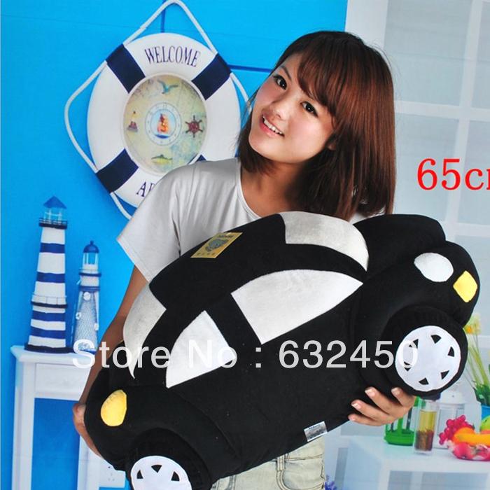 Free shipping 65CM large Toy plush car beetle pillow cushion child doll birthday gift doll NO246(China (Mainland))