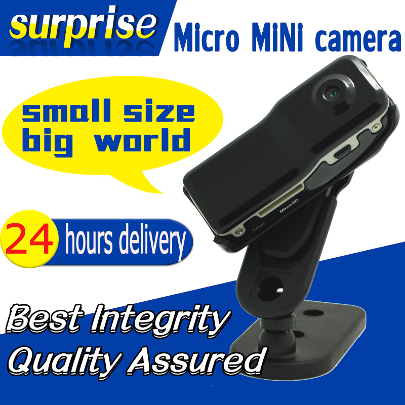 Crazy sales MD80 mini DV High-Resolution micro camera Sports Video Camera Camcorder Smallest Voice Recorder Free shipping(China (Mainland))