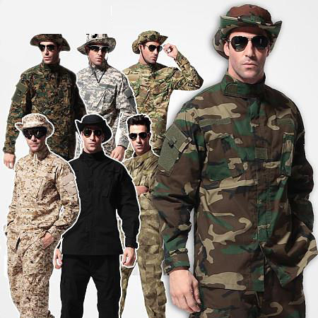 9 color tactical combat ACU woodland camo Uniform,military army camouflage uniform,hunting outdoor Wargame uniform - UNITEWIN Innovate Army Equipment store