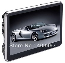 5 inch Car GPS Navigator without Bluetooth&AV IN 4GB load 3D Map(China (Mainland))