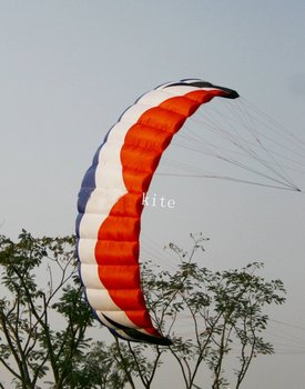 new 5 square meter Stunt  Power kite kite boarding  kite surfing so exciting free shipping