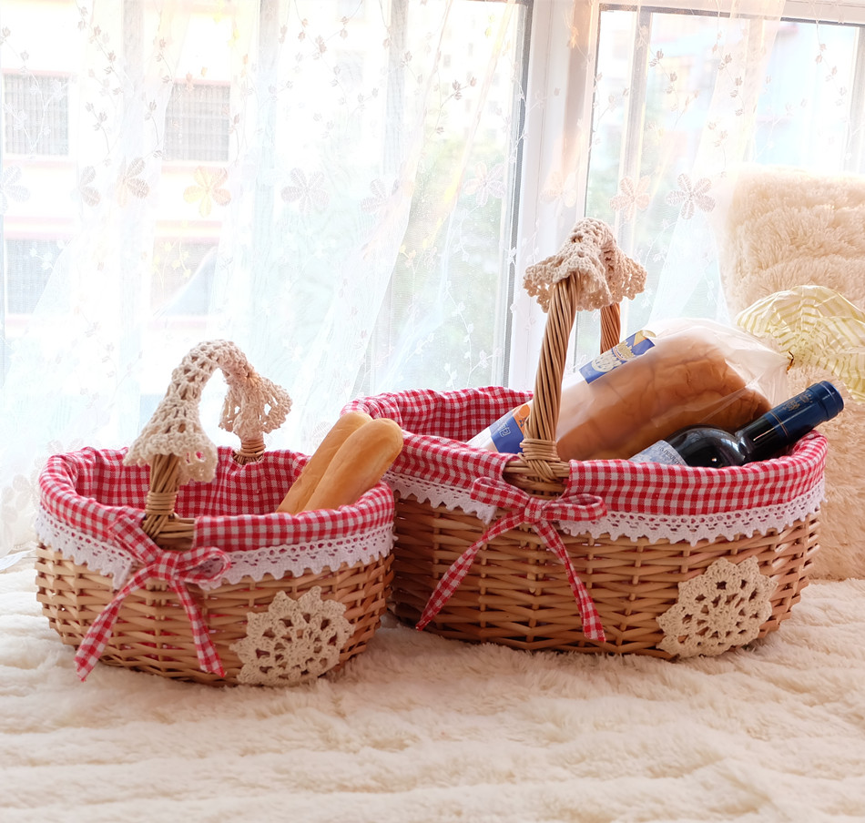 Popular Wicker Laundry Baskets With Handles Buy Cheap