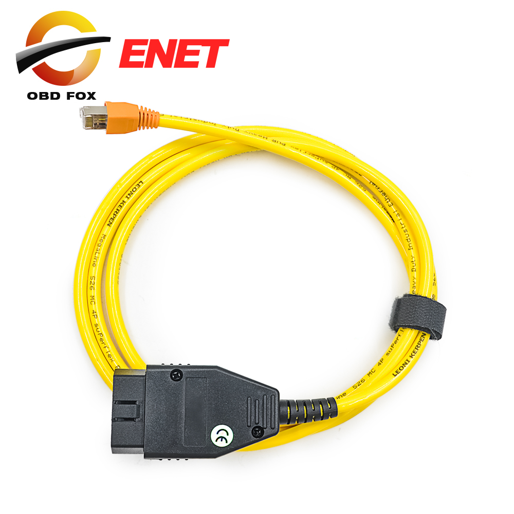 2016 New arrival for BMW ENET (Ethernet to OBD) Interface Cable E-SYS ICOM Coding F-Series free shipping(China (Mainland))