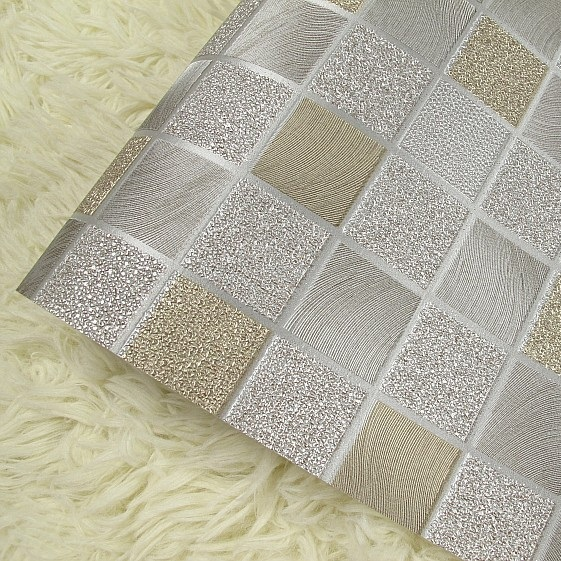 Online get cheap glitter tiles alibaba group for Cheap glitter wallpaper
