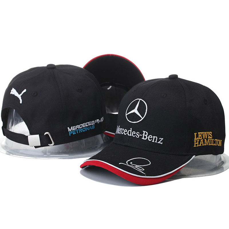 Hat factory motorcycle Baseball Cap Lewis Hamiltons Signature Edition Snapback Hat F1 Racing cap outdoor Sport Men casquette Hat(China (Mainland))