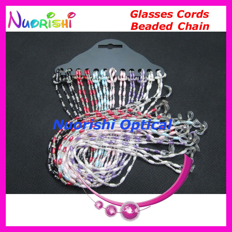 L830 sunglasses beaded neck chain cord glasses string rope holder retainer eyewear strap free shipping(China (Mainland))