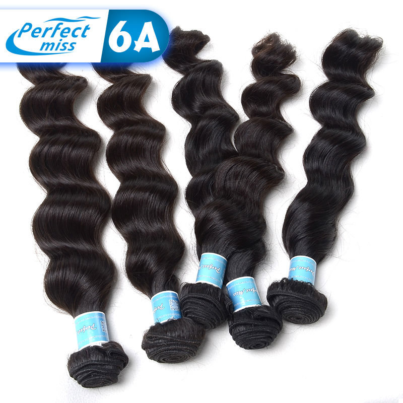 100% Pure Malaysian Loose Wave Hair Extension Remy Malaysian Virgin Hair 4 Bundles Wet And Wavy Malaysian Loose Wave Virgin Hair(China (Mainland))