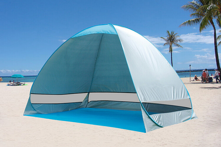 High quality Automatic beach tent Anti ultraviolet light quick automatic opening