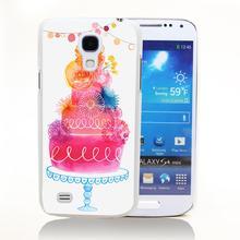 FLOWER_WEDDING_CAKE Hard Transparent Cover Case for Samsung S3 S3 mini S4 Mini S5 Mini S6 Edge(China (Mainland))