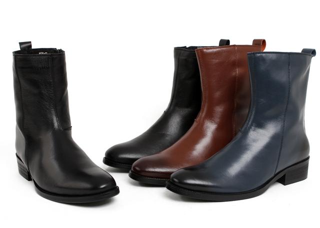 2016 новый коричневый / черный / синий / белый мужская зимняя обувь мода мужские ...
