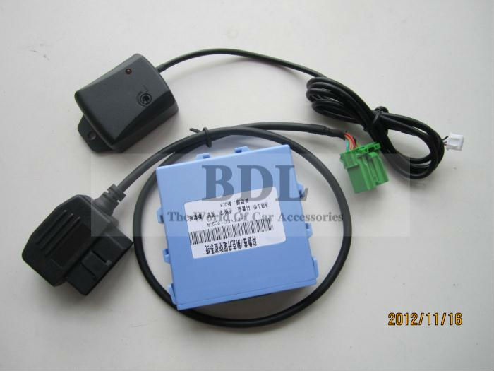CANBUS OBD Shock Sensor Adjustable Car Alarm security system for Chevrolet Cruze/Buick/Malibu/SRX+window closer function(China (Mainland))