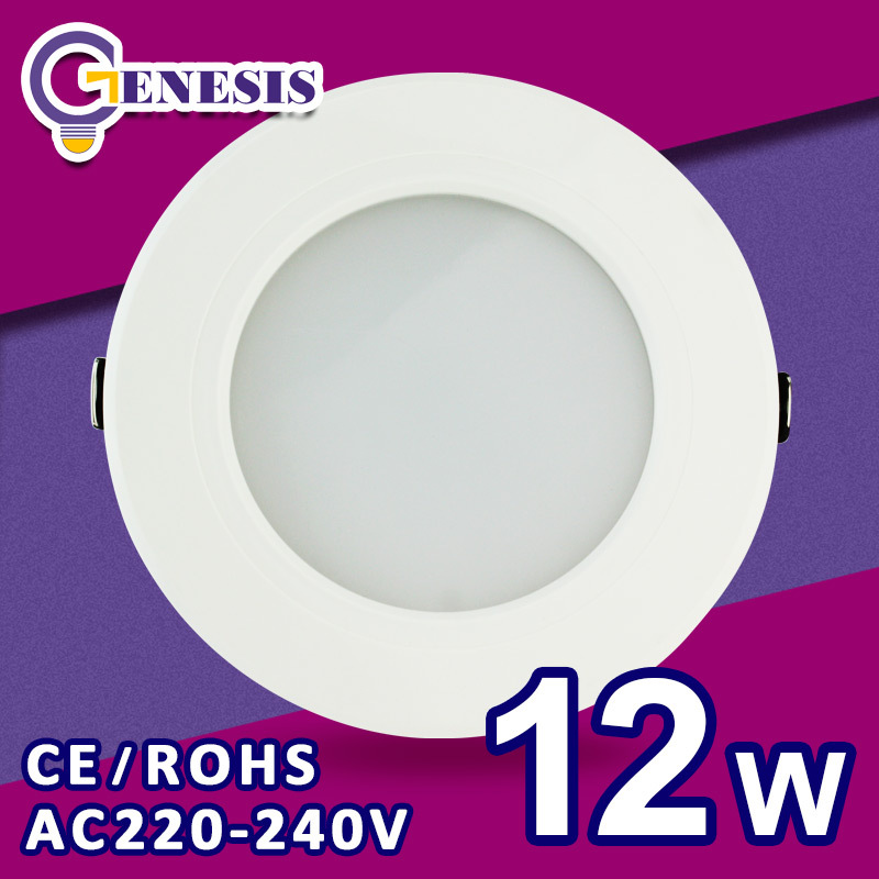 LED Ceiling lamp SMD 5730 3w 5w 7w 9w 12w 15W 18W 220v 240v downlight for bed room living room kitchen foyer study lamp(China (Mainland))