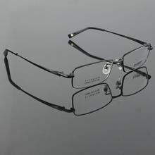 Pure titanium men's full rim eyeglasses light glasses frame prescription glasses YASHILU 9867 4 colors