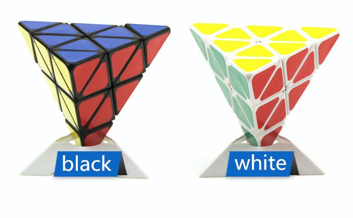 Kid Gifts IQ Toys Pyramid-shaped Magic Cube,Educational Toy Puzzle Cube(China (Mainland))