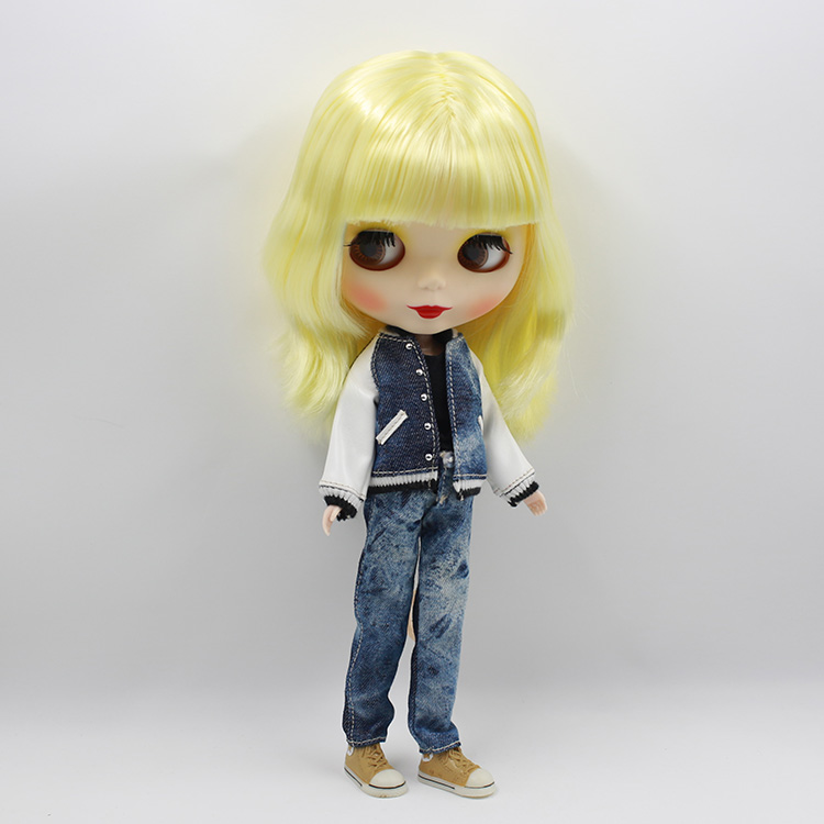 Nude Doll For Series No.130BL288 Yellow hair  Suitable For DIY Change BJD Toy For Girls<br><br>Aliexpress