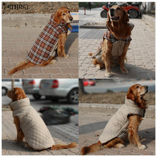 Buy HOT S-3XL Reversible dog winter clothes four colors winter jacket large dogs Medium dogs winter warm clothing large pet for $7.14 in AliExpress store